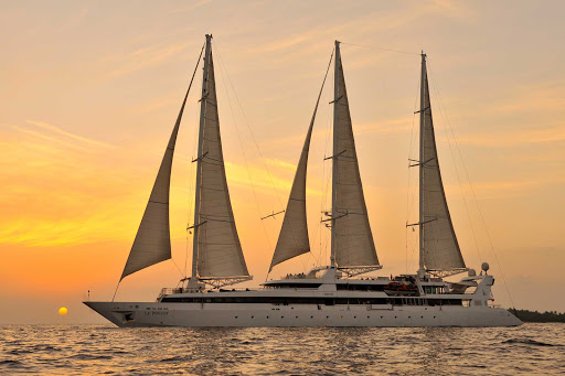 Ponant-maldives2.jpg - Sail Le Ponant through the Mediterranean or the Caribbean.