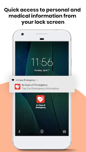 ICE - In Case of Emergency - Medical Contact Card by Techxonia Inc