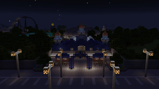 Amusement Park maps for Minecraft PE 2.3.29 screenshots 5
