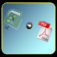 Convert Excel to pdf APK icon