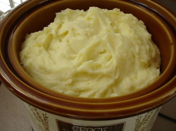 Crock Pot Mashed Potatoes Recipe