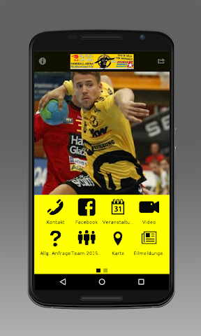 android Bregenz Handball Screenshot 0