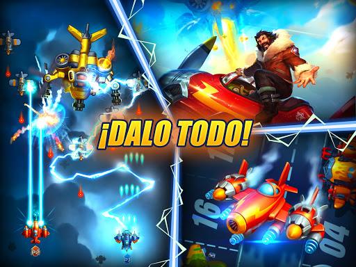HAWK: Juegos de naves espaciales de guerra screenshot 11