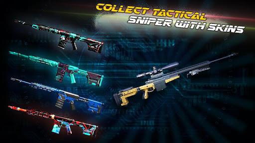 Code Triche Modern Sniper Assassin 3d: Nouveau jeu de tir de APK MOD screenshots 4