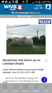 WIVB News 4- screenshot thumbnail