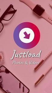 Video Downloader for Instagram – Justload for Inst apk download 1