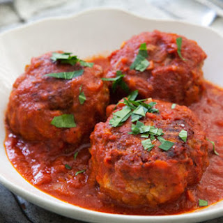 Kim's Authentic Italian meatballs