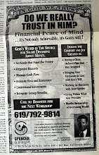 """Photo: Close up of the ad, from the """"tear sheet."""""""