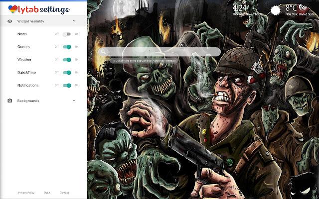 Zombie Wallpaper & Zombie Theme HD