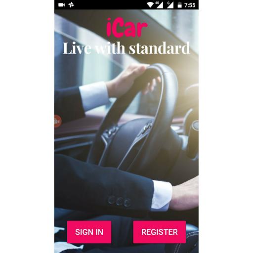 iCar - Booking App ( IBA )  screenshots 1