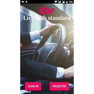 iCar - Booking App - náhled