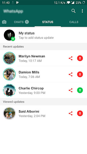 All Status Saver for WhatsApp - Status Downloader 2.1 screenshots 2