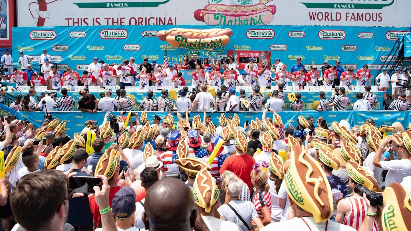 Watch 2019 Nathan's Famous Hot Dog Eating Contest live
