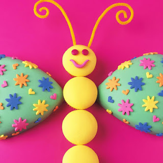 Friendly Butterfly Cake