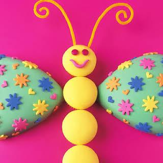 Friendly Butterfly Cake.