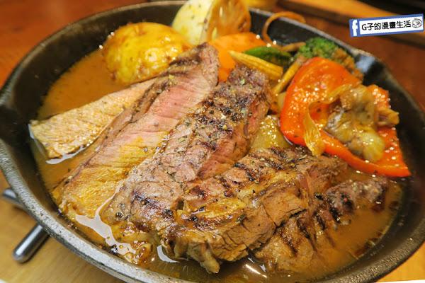 銀兔湯咖哩-師大美食-日本北海道湯咖哩,天冷吃好溫暖~厚切牛排嫩又厚實,蔬菜超多.師大夜市.日式咖哩飯餐廳