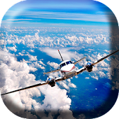 Flying Plane Live Wallpaper