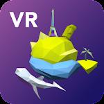 VR Video World Icon