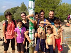 Photo: Collbaix (543m). La Núria (mare de C/F i LL/D), la Indira (LL/D), la Mònica (mare de LL/D), el Martí (C/F), el Lau (LL/D), l'Alba (mare de C/F i LL/D), el Guillem (C/F), el Ton (C/F) i el Jordi (nen i ara pare de LL/D i C/F).