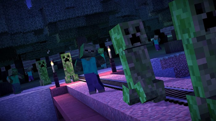Minecraft: Story Mode- screenshot