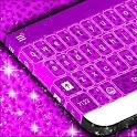 Purple Cheetah Keyboard Theme icon