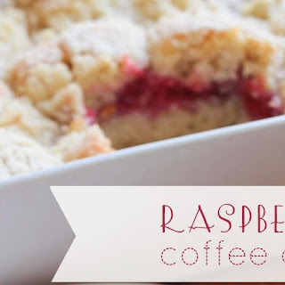 Fresh Raspberry Coffee Cake Recipe