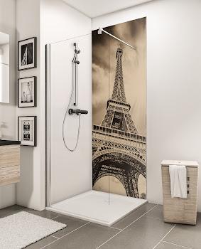 Panneaux muraux DecoDesign PHOTO, tour Eiffel