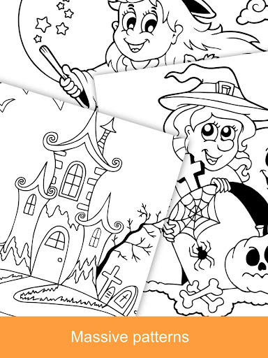 2021 Halloween Coloring Books  screenshots 12