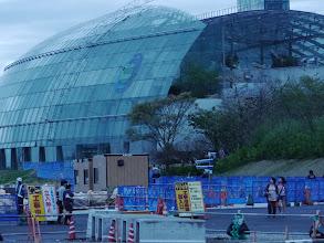 Photo: まだ完全に元通りになっていない福島マリン。復旧工事が継続中です。