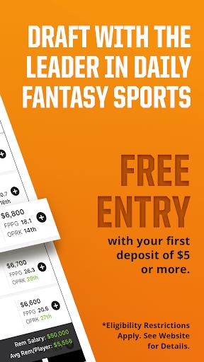 DraftKings - Daily Fantasy Sports screenshot