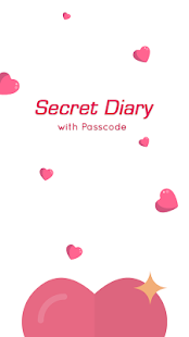 Secret diary with passcode- screenshot thumbnail