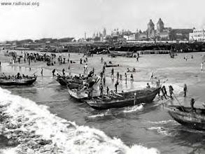 Photo: Madras harbour