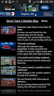 WDTN Weather- screenshot thumbnail