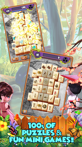 Mahjong Gardens: Butterfly World android2mod screenshots 9