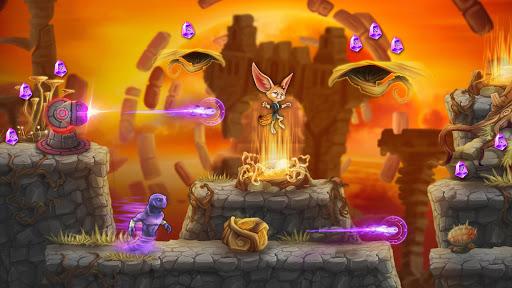 Code Triche Finn & Ancient Mystery: Courez, sautez et avancez APK MOD (Astuce) screenshots 4