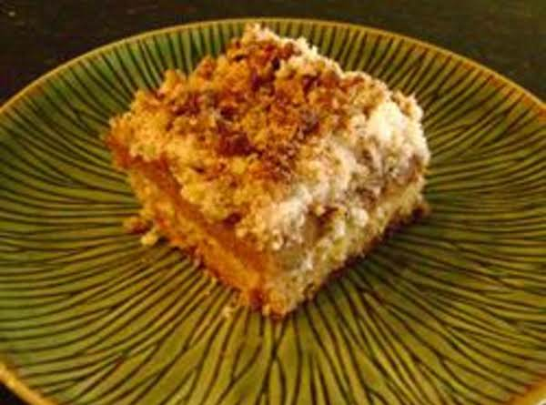 Pumpkin Crumb Cake Recipe