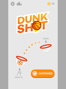 Dunk Shot MOD (Unlimited Money) 6
