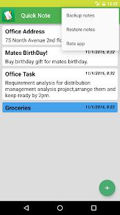 Quick Voice Note screenshot