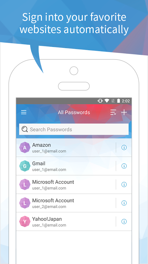 Password Manager - SAVE & CREATE COMPLEX PASSWORD- screenshot