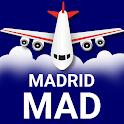 Madrid Barajas Airport: Flight Information icon