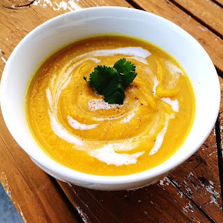 Creamy Butternut Squash Coconut Curry Soup