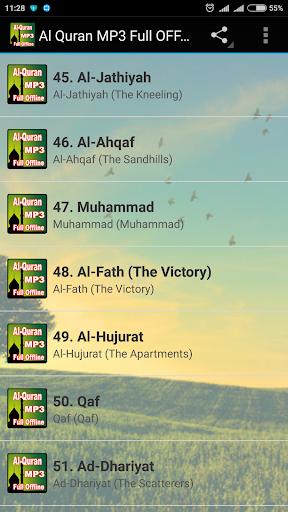 Al Quran MP3 Full Offline 2.2 screenshots 2