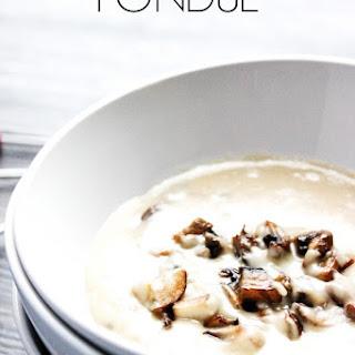 Mushroom Marsala Fondue