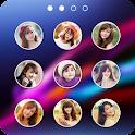 lock screen photo icon
