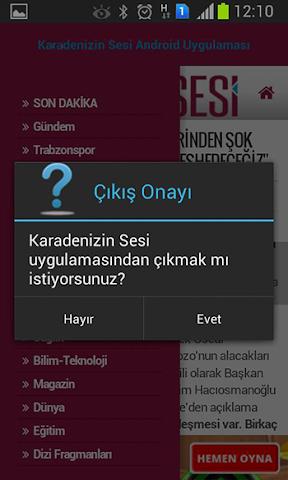 android Karadenizin Sesi Screenshot 4
