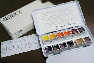 Photo: Review: Blockx Watercolor Set