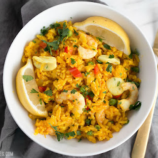 Mixed Seafood With Rice Recipes