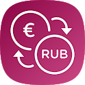 Euro Russian rouble converter / EUR to RUB icon