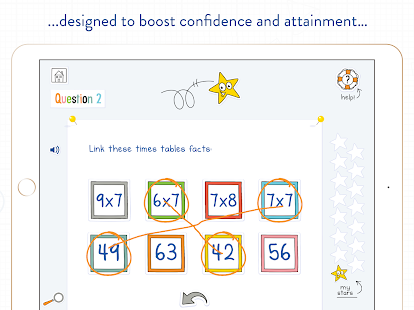 DoodleMath Times Tables Screenshot Thumbnail