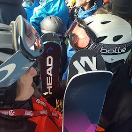 Gondola helmets by Karen McGregor - Sports & Fitness Snow Sports